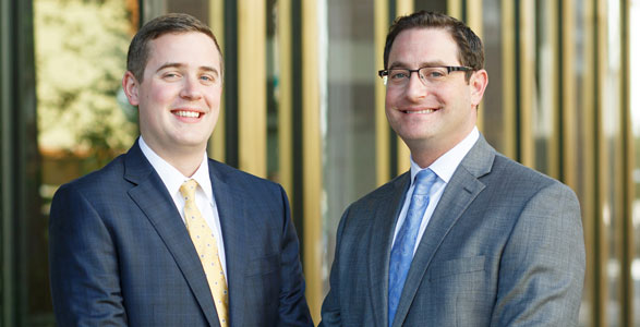 Personal injury attorneys Will and David