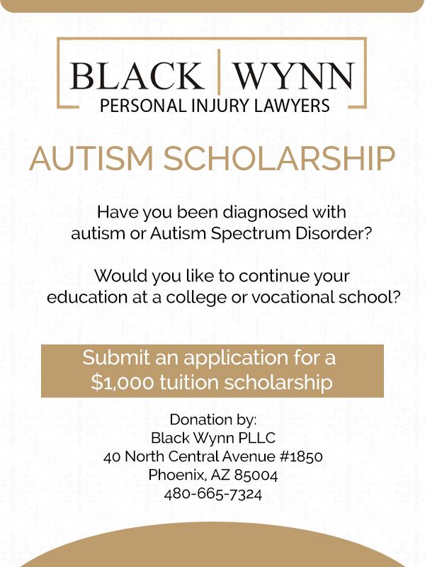 2019 Autism Scholarship